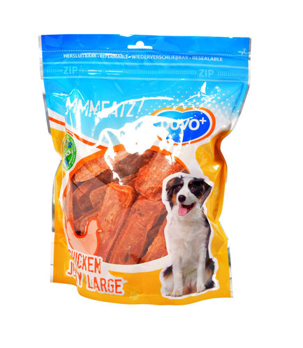 MMMEATZ CHICKEN JERKY LARGE 1000G