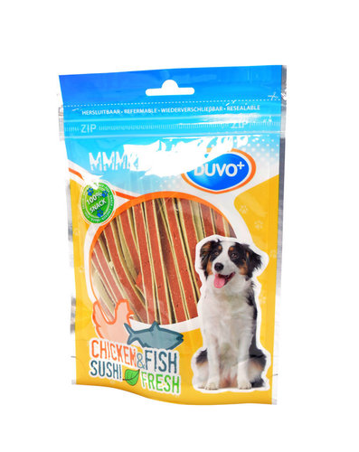 MMMEATZ CHICKEN SUSHI STRIPS 100G