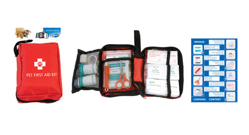 PET FIRST AID KIT - 61PCS 12x15,5x5CM