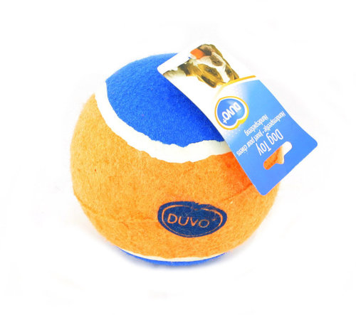 DOGTOY TENNISBALL XL - 1ST - Ø13CM orange/blue