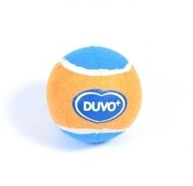 DOGTOY TENNISBALL L - 1ST - Ø10CM orange/blue