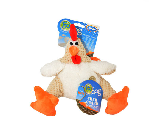 DOGTOY Chicken Plush GoDog