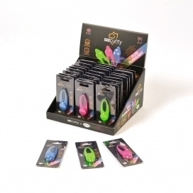 SECURITY Fluo Flashlight  8x3x1CM